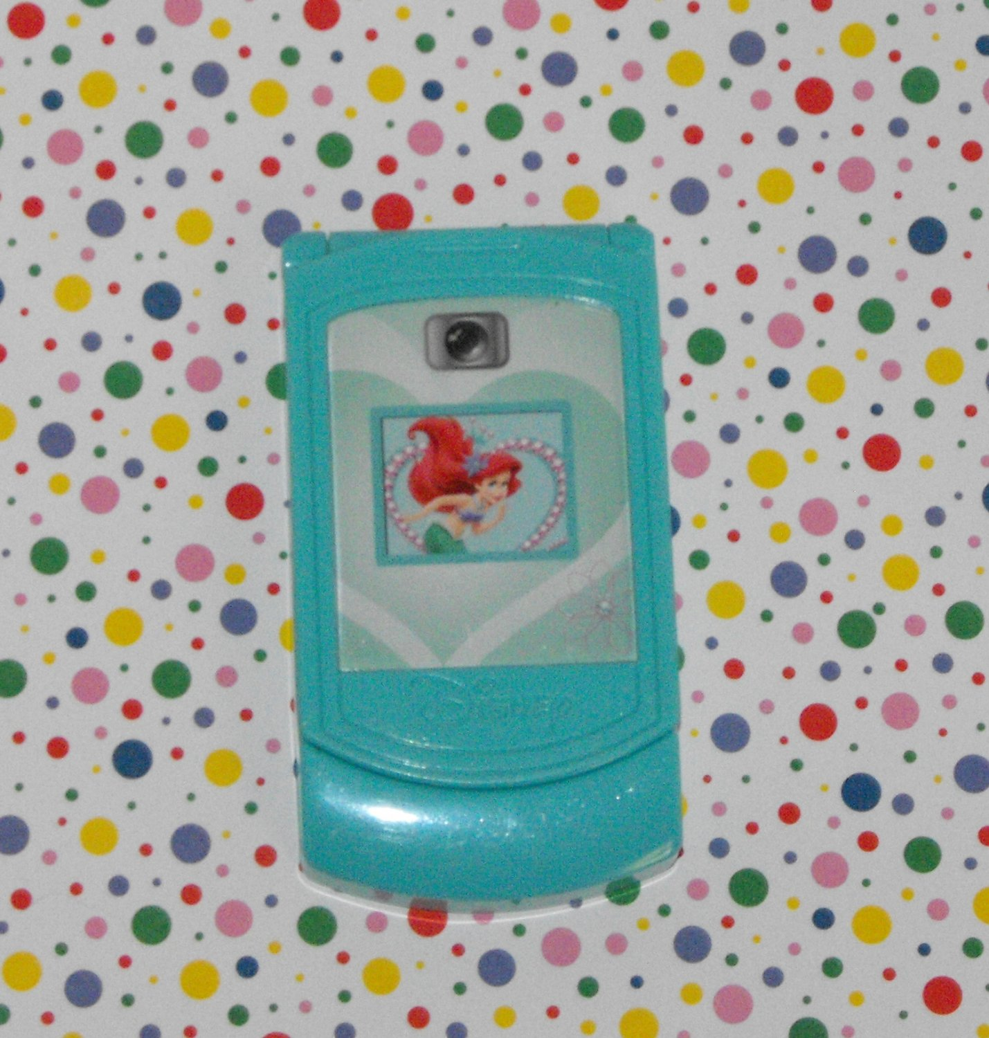 12*SOLD~Disney's Little Mermaid Talking Cell Phone Toy