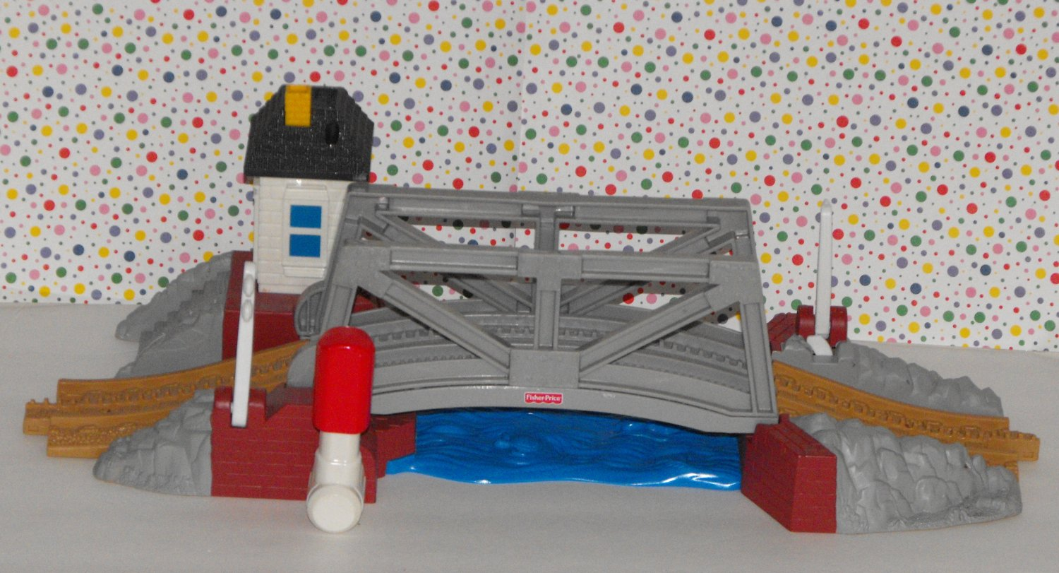 *SOLD awaiting feedback*Fisher Price Geo Trax Geotrax Bayshore Drawbridge