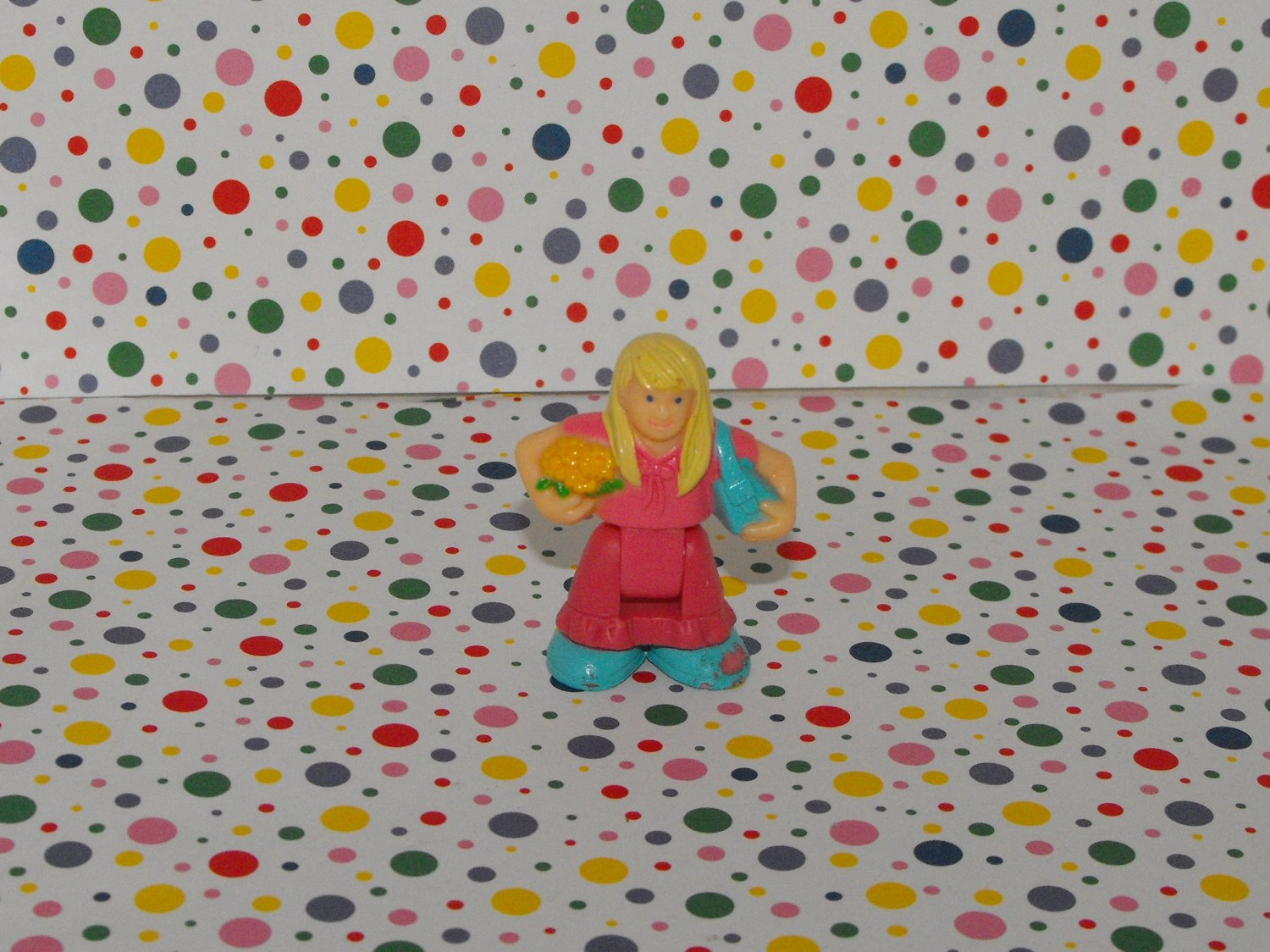 *SOLD~Awaiting Feedback~Fisher Price Geotrax Girl Passenger Figure Part