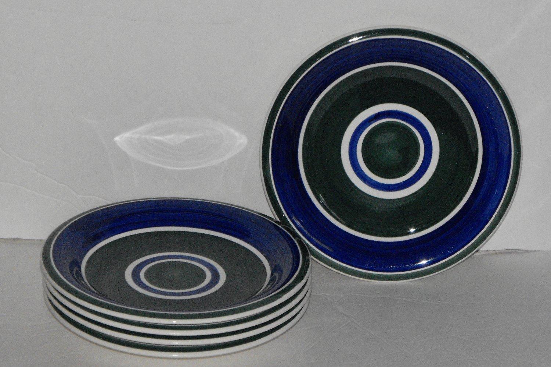 *11/16*SOLD~Gibson Housewares Dinnerware Basic Living Viii Swirl Salad/Bread Plates