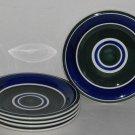Gibson Housewares Dinnerware Basic Living Viii Swirl Salad/Bread Plates
