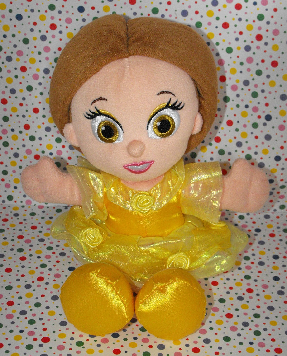 *11/16*SOLD~Disney World Beauty and the Beast Belle My First Princess Lovey Plush Doll