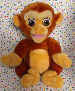 Disney World Aladdin Abu the Monkey Lovey Plush
