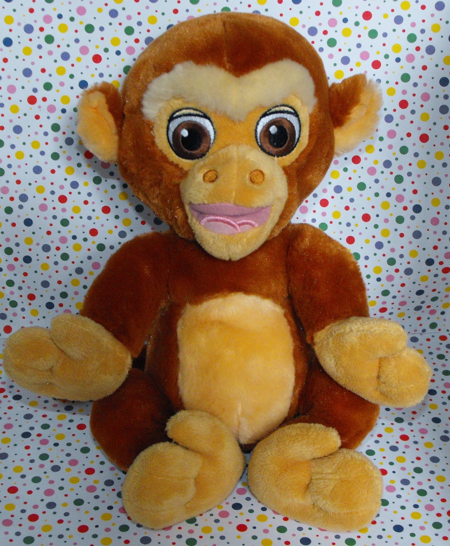 Disney World Aladdin Abu the Monkey Lovey Plush