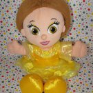 Disney World Beauty and the Beast Belle My First Princess Lovey Plush Doll