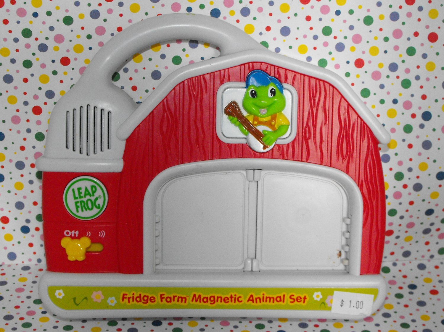 12*SOLD~Leapfrog Fridge Phonics Base Farm Barn Unit Part