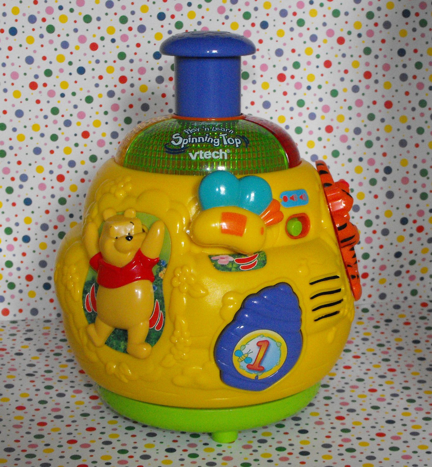 VTech Winnie The Pooh Play 'n Learn Spinning Top