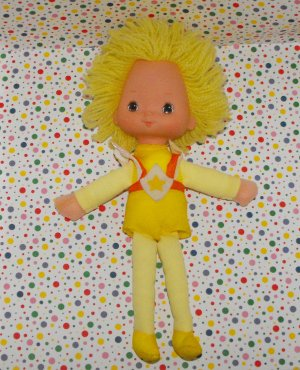 Vintage Hallmark Rainbow Brite Spark (Canary Yellow) Dancer Doll