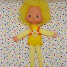 Vintage Rainbow Brite Spark (Canary Yellow) Dancer Doll