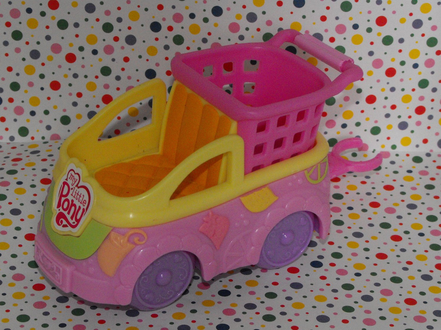 12*SOLD~My Little Pony Ponyville Newborn Cuties Shopping Day with Mom Grocery Cart Part