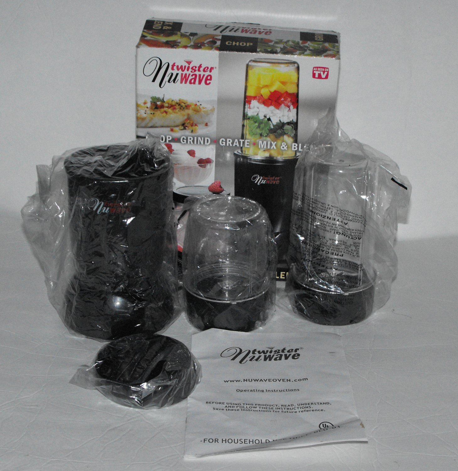 *SOLD~NuWave Technologies Twister Blender