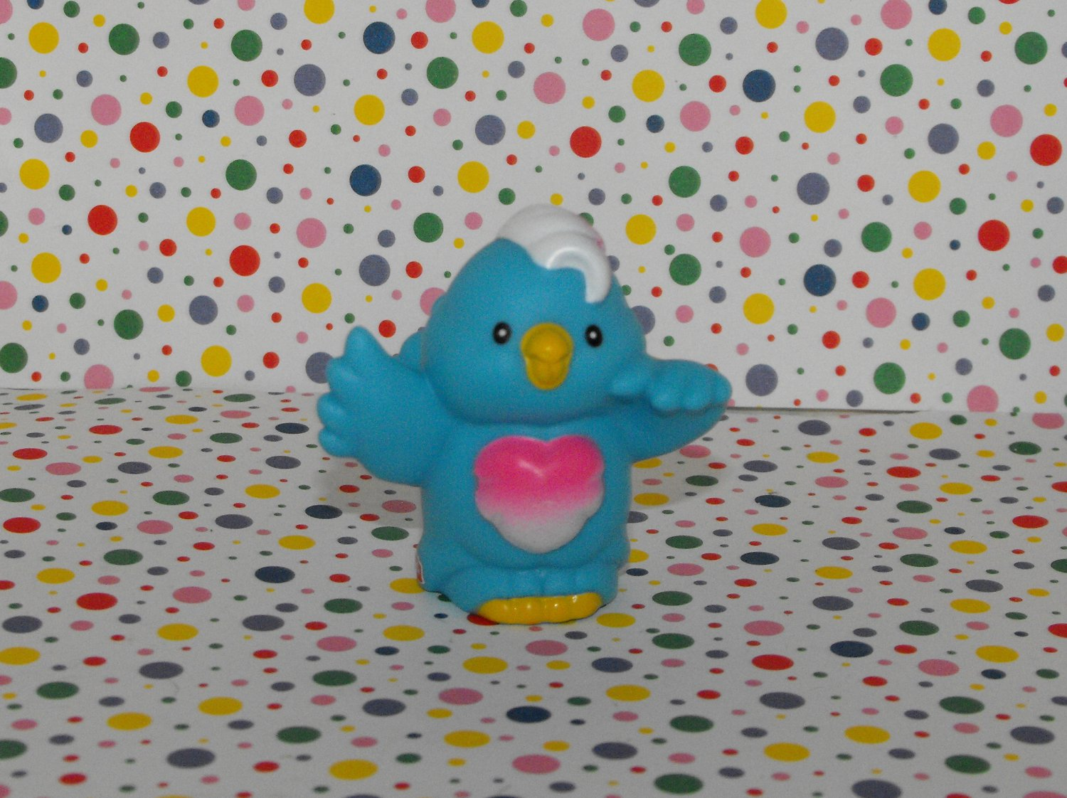 *7/13*SOLD~Fisher Price Little People Animal Sounds Zoo Blue Bird Part