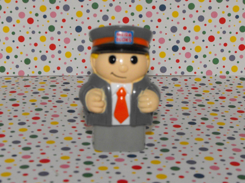 *SOLD~Awaiting Feedback~MegaBlocks Mega Bloks Lil' School Bus Driver Figure Part