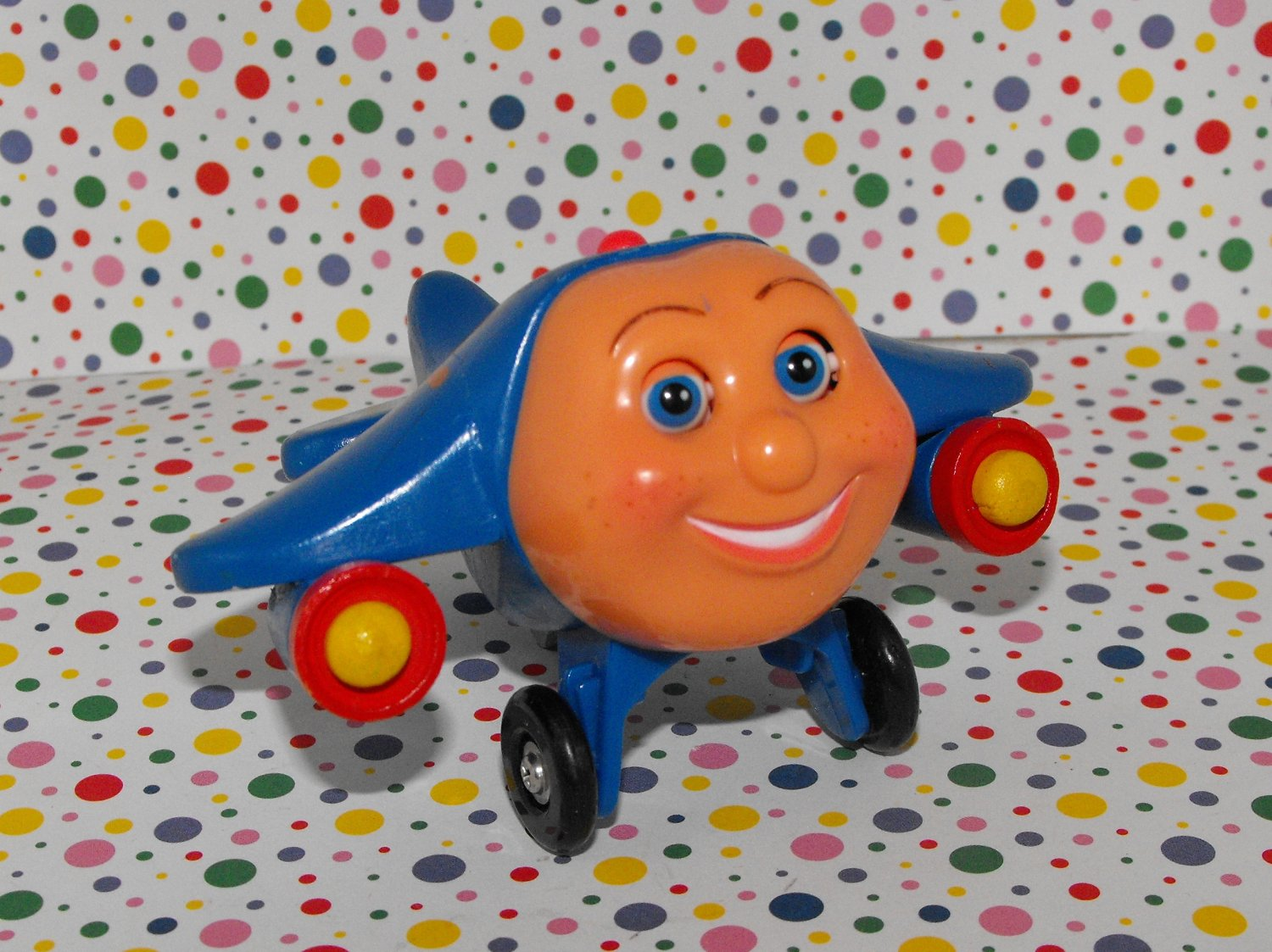 *SOLD~Awaiting Feedback~Jay Jay the Jet Plane Wooden Toy