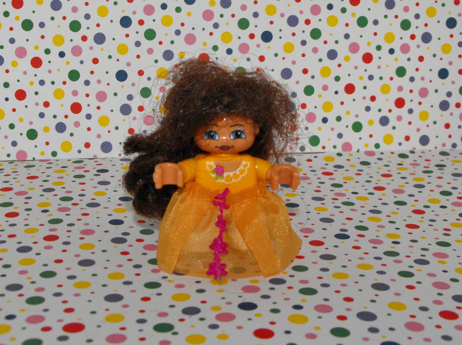 Lego Duplo Princess Yellow Figure Part