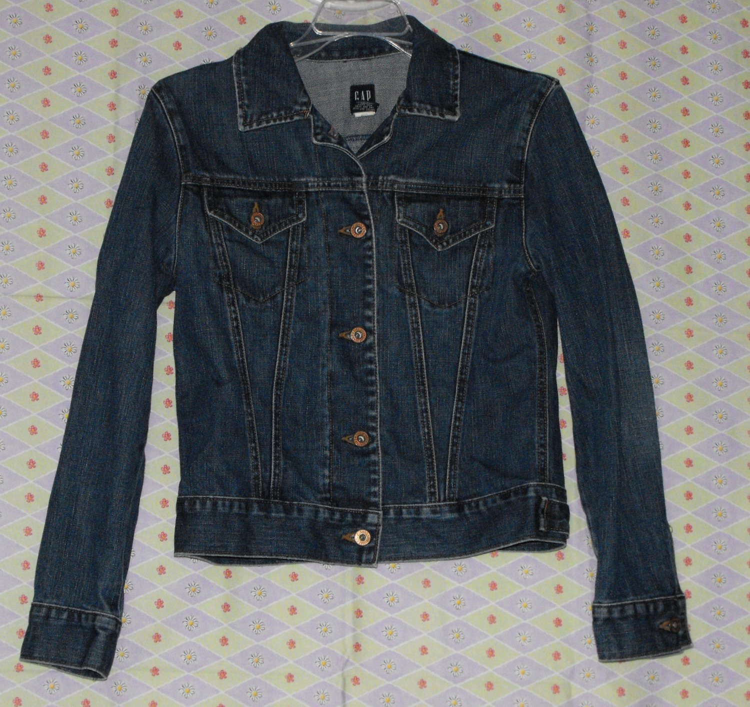 *SOLD~Awaiting Feedback~Women's GAP Denim Jean Jacket Size Small