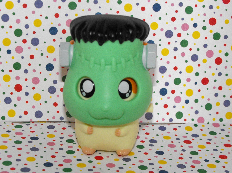 *9/16*SOLD~ Hamtaro Frankenstein Burger King Premium Toy Figure