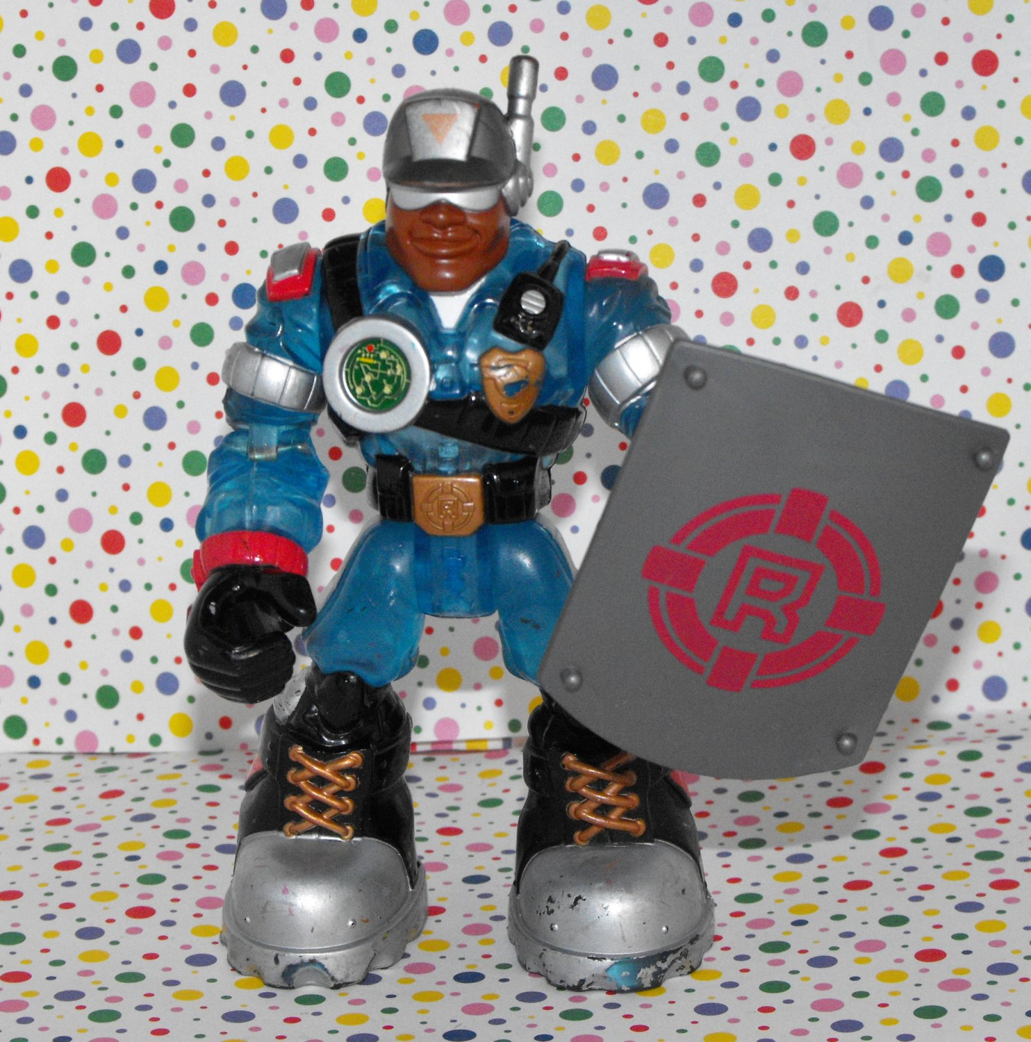 Fisher Price Rescue Heroes Mission Select Voice Tech Jake Justice