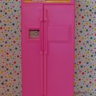Vintage Barbie Pink Refrigerator Made by Arco