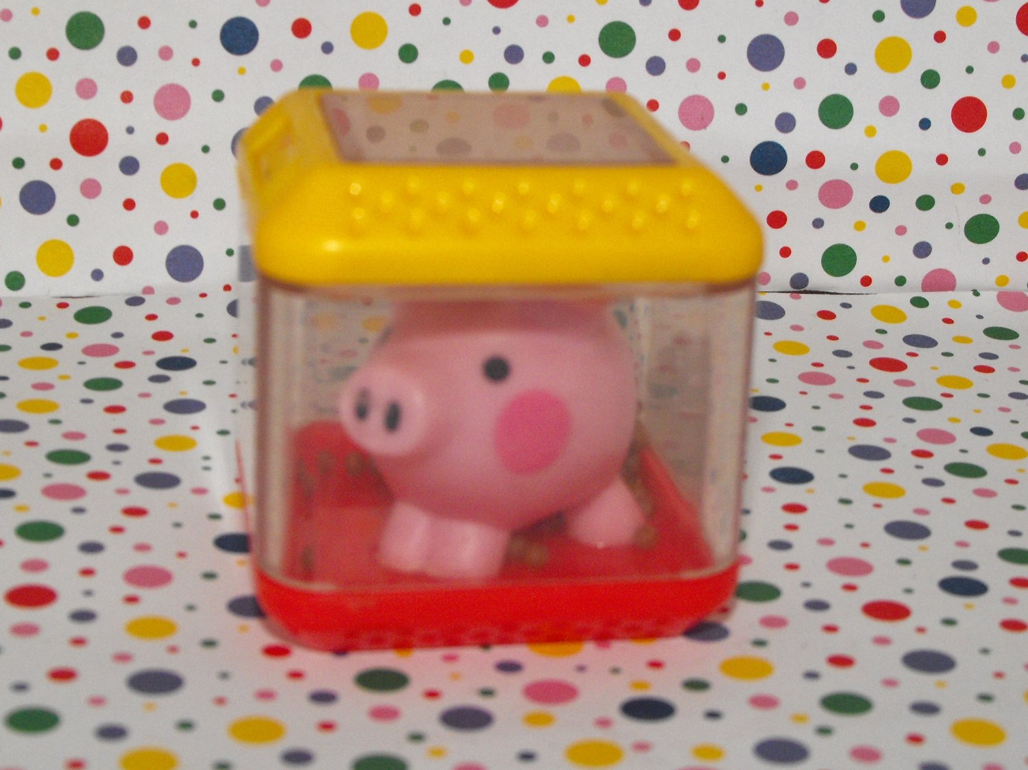 Fisher Price Peek A Blocks Barnyard Friends Pig Block Replacement Part