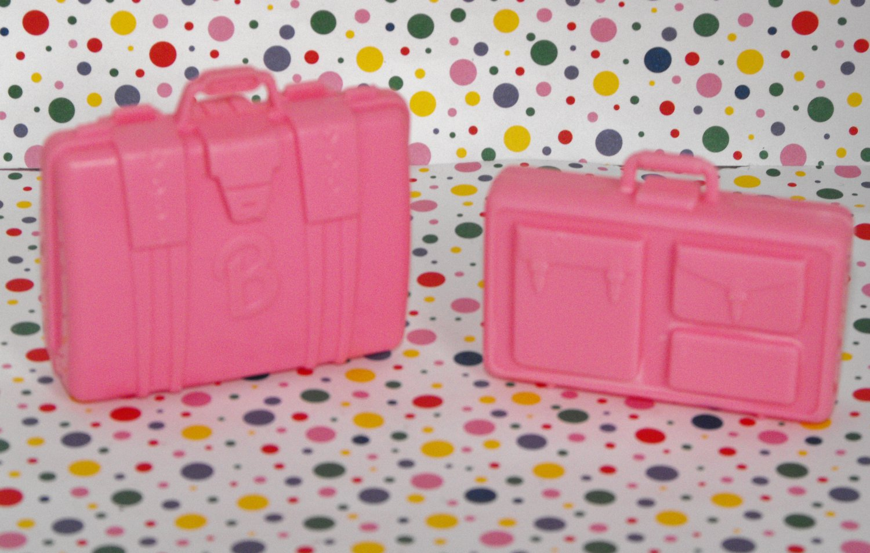 Barbie Pink Luggage Set