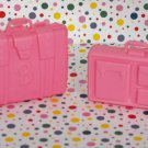 Barbie Pink Luggage Set