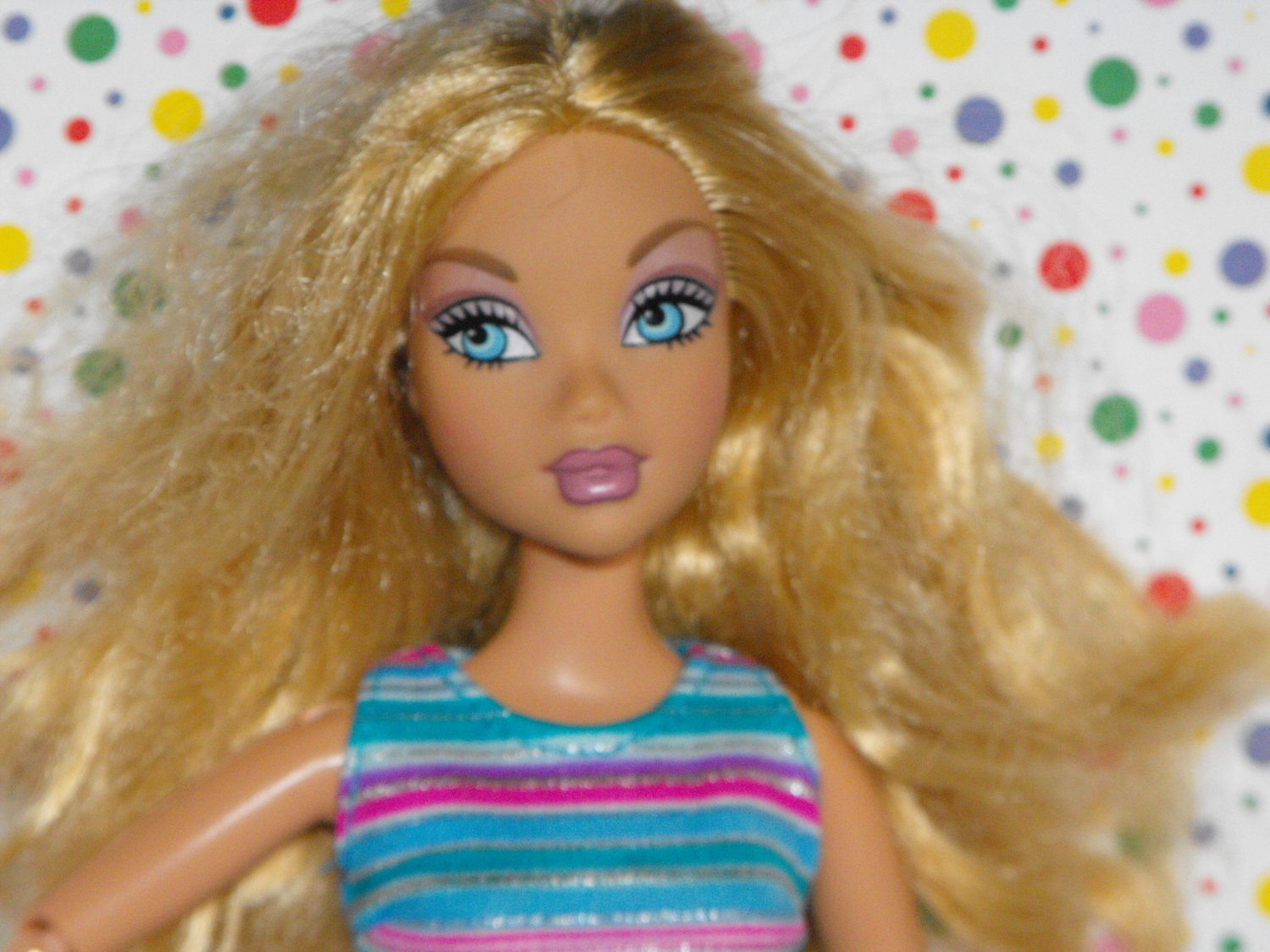 *8/17*SOLD~Barbie My Scene Doll Jointed Arms