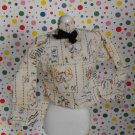 Vintage Barbie Skipper Best Buy Peasant Country Blouse Shirt