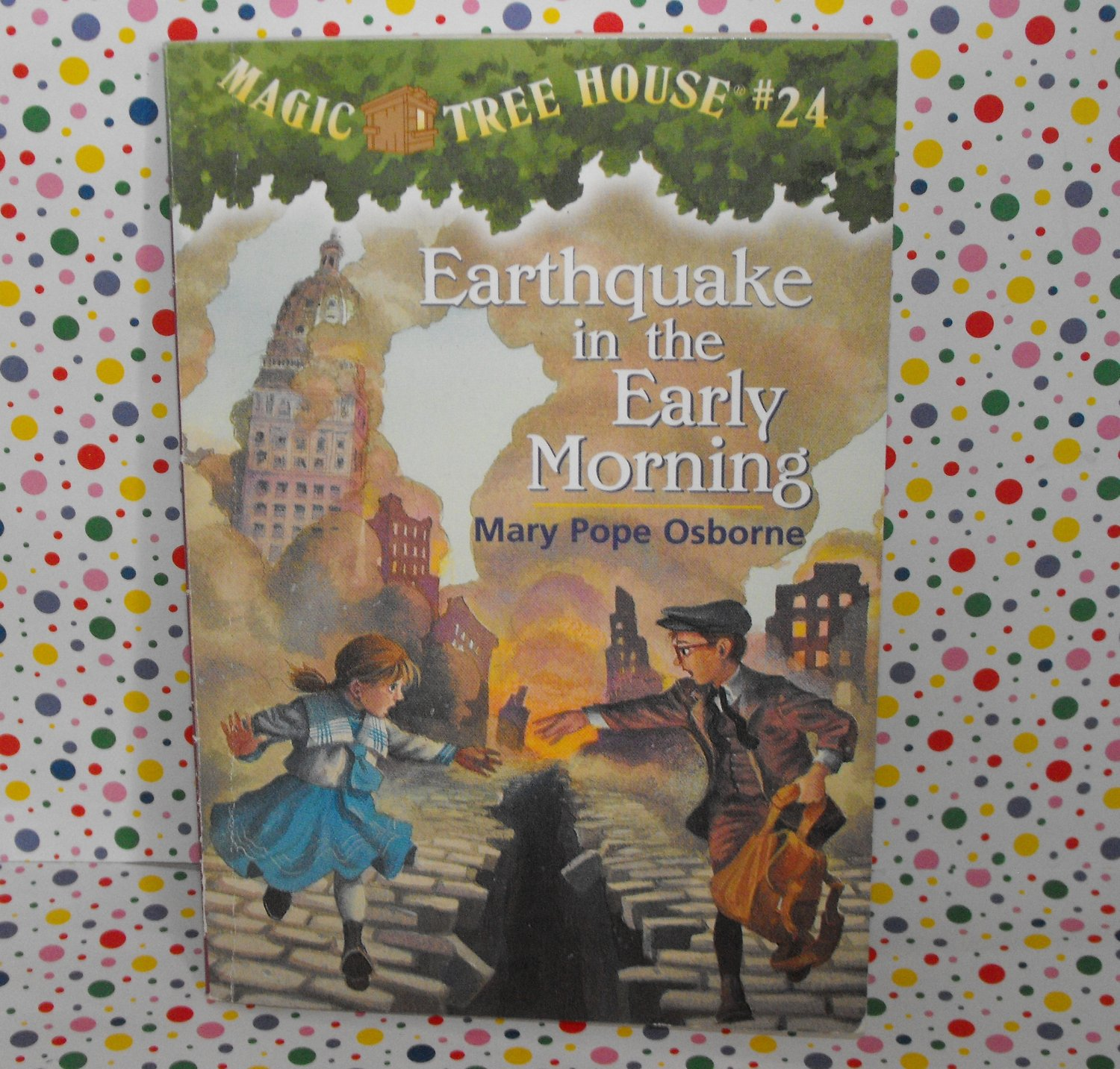 Magic Tree House Earthquake in the Early Morning #24