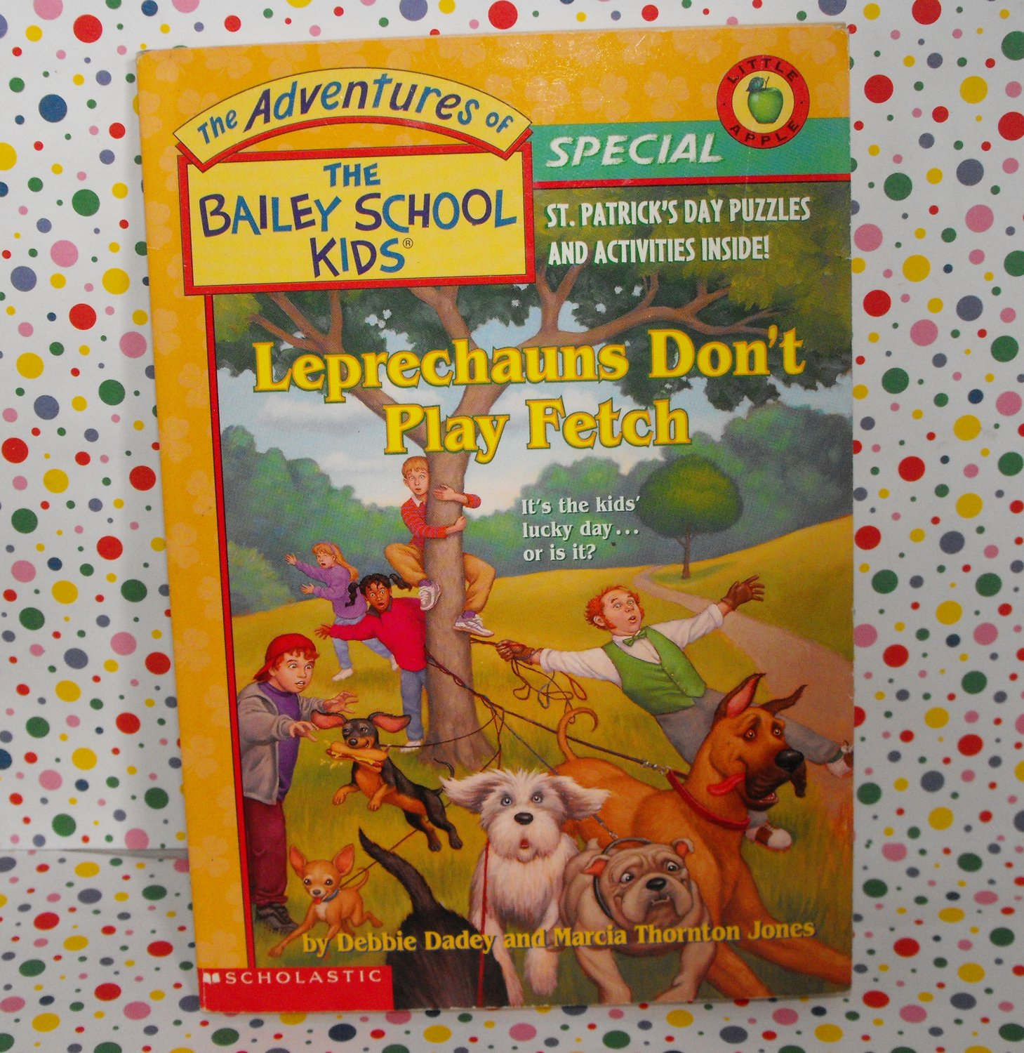 Bailey School Kids Holiday Special Leprechauns Don't Play Fetch