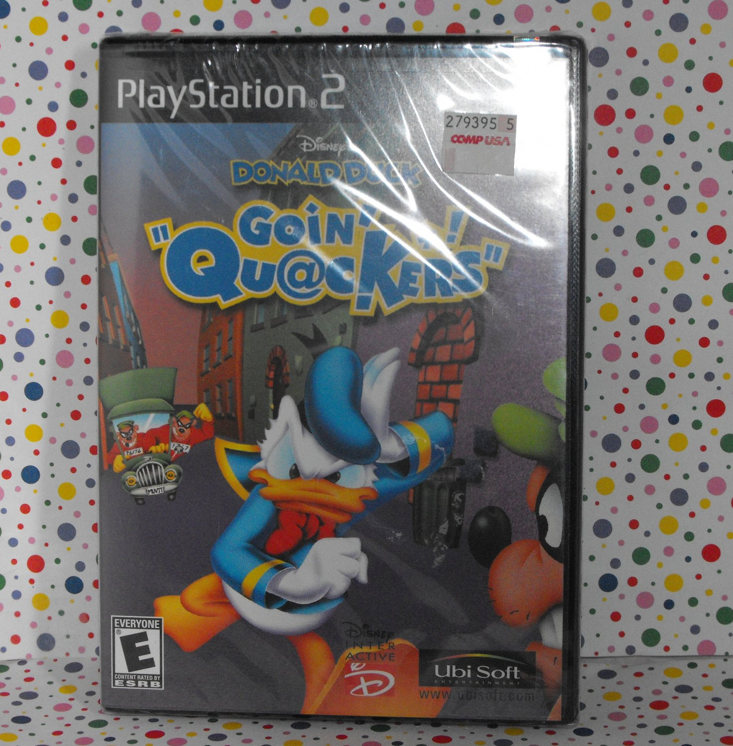 *12/15*SOLD~Donald Duck: Goin' Quackers Sony PlayStation 2 PS2 Game