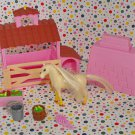 Barbie Miniature Horse Pony Stable Playset