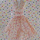 Barbie Pink Label 50's Retro Halter Polka-Dot Dress