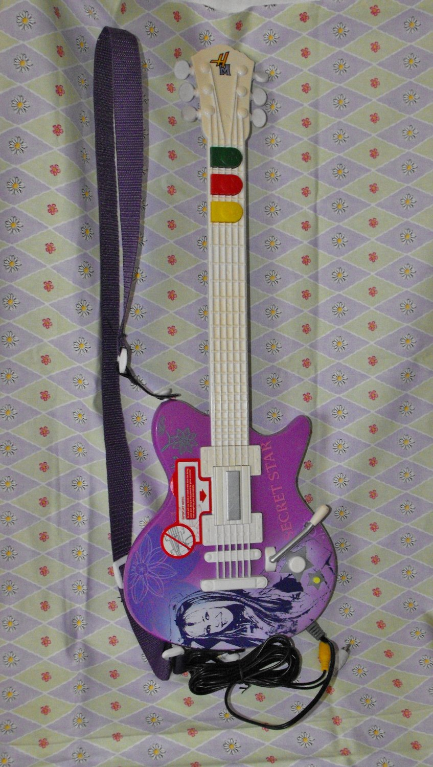 Hannah Montana Guitar Video Game for Girl Jakks Pacific G2