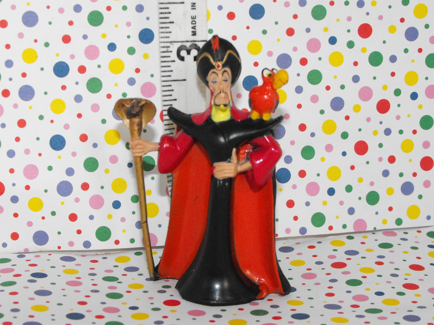 Disney Jafar and Iago Figure