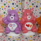 Care Bear Playset Lot of 4 Bears
