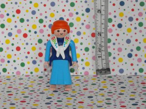 Playmobil Lego Minifigure Farm Dutch Milkmaid Woman Parts