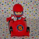 Fisher Price Little People Spin n' Crash Raceway Eddie Driver Car Part