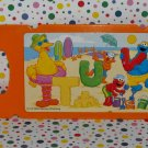Fisher-Price Sesame Street Learning Fun Laptop Orange Card Part