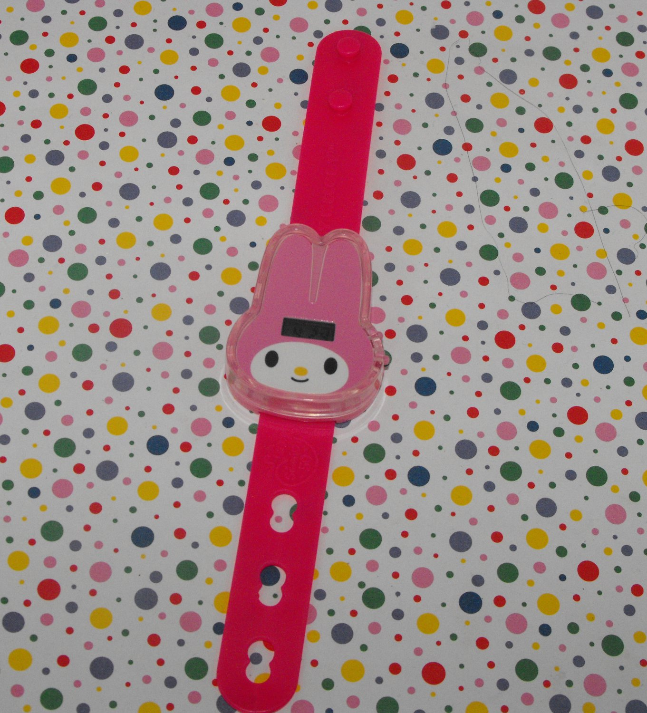 2010 McDonald's My Melody Sanrio 50th Anniversary Hello Kitty Watch