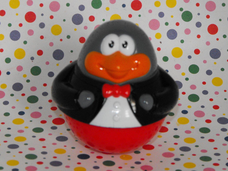 Playskool Weebles Penguin in Tuxedo Shirt