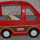 Little Tikes Dolllhouse Woody Panel Minivan Car
