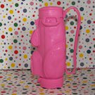 Mattel Pink Barbie Golf Cart Golf Bag Part