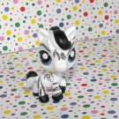 Littlest Pet Shop Postcard Pets Zebra #903
