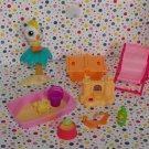 Littlest Pet Shop Summer Time Figures Playset Parts Lot
