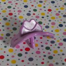 Purple Doll Baby Heart Pacifier Dummy Binky Part