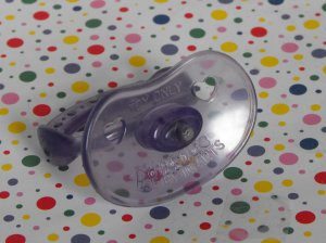 Purple Cabbage Patch Kids CPK Play Along Doll Baby Magnetic  Pacifier