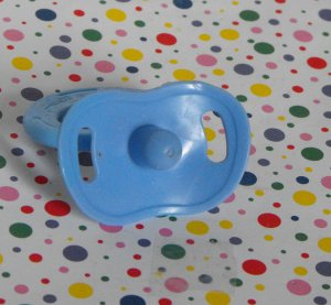 11*SOLD~Berenguer Lots to Love Babies Blue Baby Boy Doll Pacifier