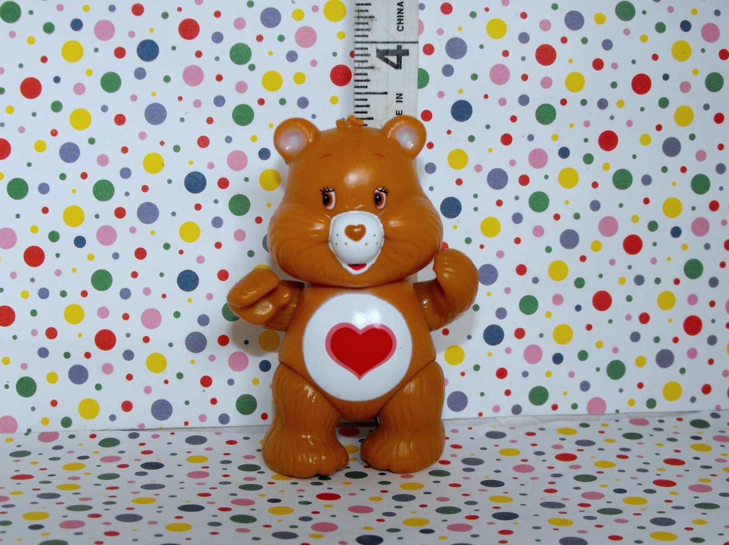 Tender heart Bear Care Bear Poseable Figurine