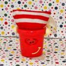Blues Clues Blue's House Pail Spinning Face Figure